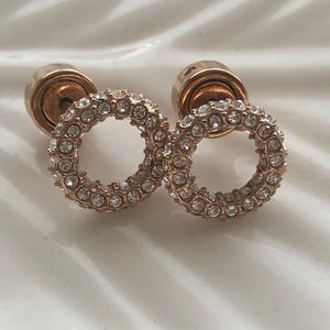 Michael Kors Authentic Pave Crystal Earrings